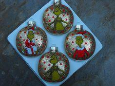 Grinch Christmas Ornaments