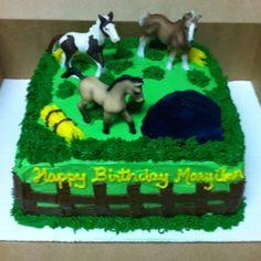 MaryAnn's horse cake