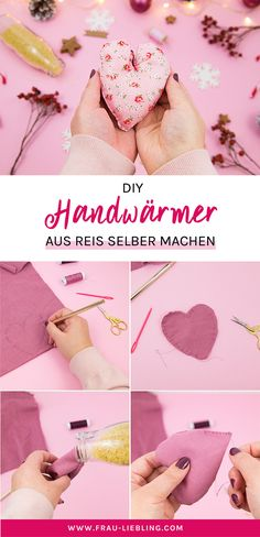 DIY Handwärmer selber machen – Nie mehr kalte Hände autour du tissu déco enfant paques bébé déco mariage diy et crochet Crafts For Teens To Make, Make And Sell, Diy For Teens, Diy Home Crafts, Fun Crafts, Diy Décoration, Easy Diy, Wallpaper Marvel, Diy Cadeau