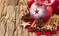 alma fahéj fűszerek gyümölcs