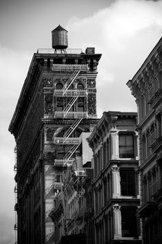 Water Tower, Broome Street, SoHo, New York City Architecture by James Maher