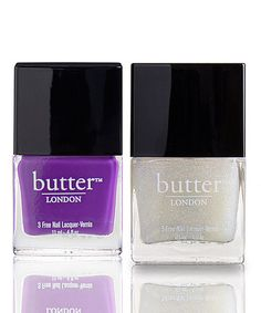 Take a look at this Brummie & Frilly Knickers Nail Polish Set by butter LONDON on #zulily today!