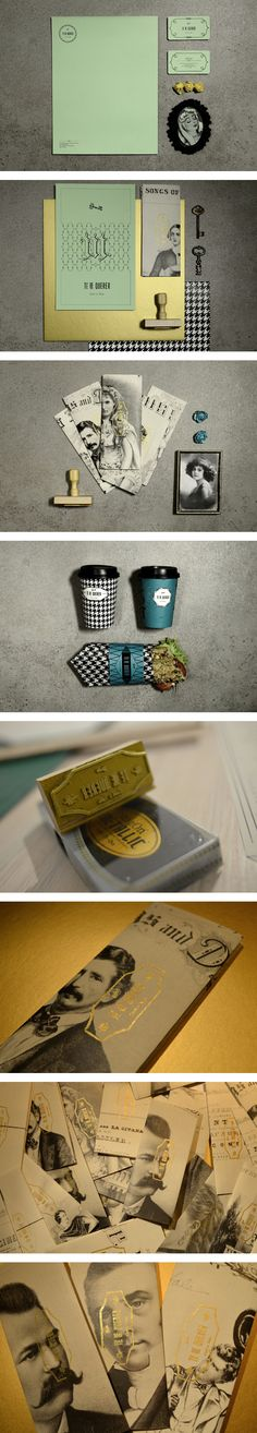 Té de Querer identity by yy , via Behance