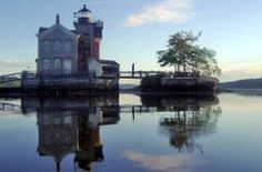 The only light on the Hudson River with overnight accommodations, Saugerties Lighthouse can be accessed one way: by walking a half-mile trail that floods at high tide. Once there, guests can relax in either the West Room, which faces the Catskills Mountains, or the East Room, which looks onto the river. Both rooms, located on the second floor, are furnished with simple, comfortable furniture, much as the house would have been in the early 20th century.