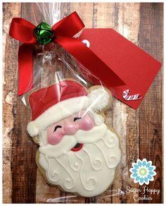 pastries.quenalbertini: Santa Claus Cookie