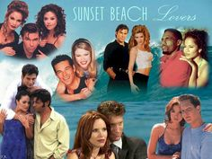 SUNSET BEACH! Sunset Beach, Virginia, Eddie Cibrian, Tv Soap, My Childhood Memories, Me Tv, Classic Tv, Over The Years, Nostalgia