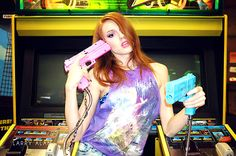 """""""Arcade Unicorn"""" by @larryalanphoto Model: @carolinakenney69 MUA: @thutchison73"""