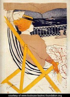 The passager number 54 - Henri De Toulouse-Lautrec - www.toulouse-lautrec-foundation.org