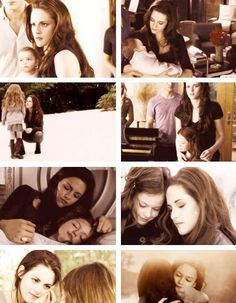 Bella & Renesmee <3 Renesmee looks so much like her mommy ( Bella ) !!!!!!!!!!!! <3 :D
