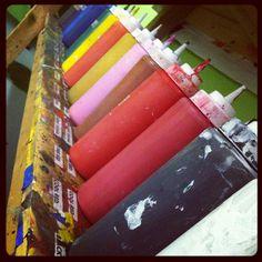 paint bar Paint Bar, Candles, Studio, Painting, Painting Art, Candy, Studios, Paintings, Candle Sticks