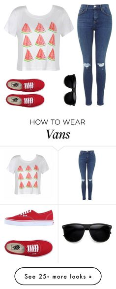 """""""Untitled #1074"""" by kiky-miskovic on Polyvore featuring Ally Fashion and Vans"""