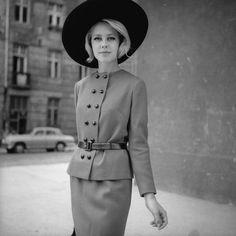 @Tadeusz Rolke Vintage Outfits, Retro Chic, Vintage Love, Peplum Dress, Fashion Outfits, Photography, Clothes, Dresses, Polish