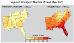 Una imagen desoladora sobre EEUU y el cambio climático / @guerraeterna   #thedarkside #socialgeo