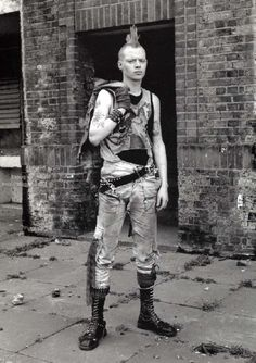 Skinheads and Punks in Early 90s