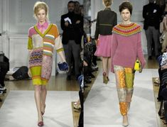 Fall-winter 2012-2013, the Moschino History sweaters for more than 100 years (in pictures) - Fair Masters - handmade, handmade