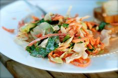 Cilantro coleslaw