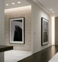 Turtle Creek apartment in Dallas by HKS & Pam Wilson, clean interior design and lighting ( © Blake Marvin) _