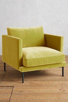 Velvet Linde Chair #anthropologie
