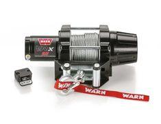 Warn Vrx 25 Wire Rope Power Sport Winch In 2020 Warn Winch Electric Winch Steel