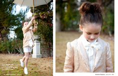 Is that a- peach, sequined blazer? Why, yes. Yes, it is. And my child clearly needs it...