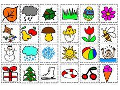 Pro Šíšu: Rocni období Toddler Learning Activities, Alphabet Activities, Preschool Activities, Free Printable Art, Free Printables, Rainbow Cartoon, Transitional Kindergarten, Free Preschool, Paper Toys