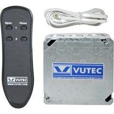 Ir Remote Control by Vutec. $217.68. 01-IR1CK Features: -Compatible with Vutec's motorized Screens and Lifts.-Single channel kit operates one motor. Includes: -Includes 1 infared remote, 1 IR reciever, 1 receiver eye with 6' telephone cord.-Includes transmitter. Specifications: -Available in 110V or 220V. Disclaimer: -PLEASE NOTE: This item cannot be shipped to Puerto Rico.