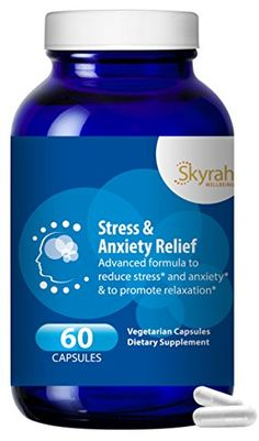 All Natural Anti Anxiety  Stress Relief Supplement  w Turmeric Magnesium Ashwaganda B Vitamins  60 Capsules 2 Months Supply Emotional Wellness  Mood Support  Calm Your Nerves >>> Details can be found by clicking on the image.  This link participates in Amazon Service LLC Associates Program, a program designed to let participant earn advertising fees by advertising and linking to Amazon.com.