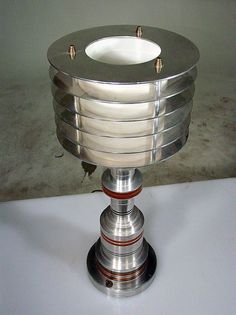 1stdibs.com | Art Deco Style / Machine Age Table Lamp by Walter Von Nessen