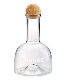 'Shiraz' Wine Decanter