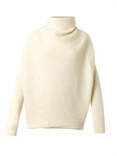 Jersey de lana de cuello alto Galáctica