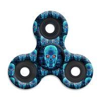 SPINNERS squad fidget toys Red Eye Skulls