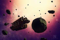 asteroid mining ship-thumb