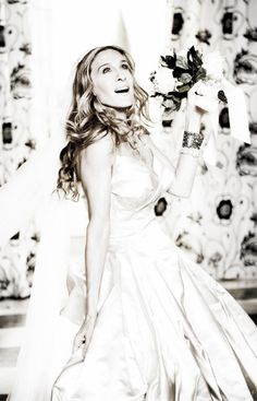 Carrie Bradshaw-Vivienne Westwood wedding gown. Absolutely beautiful