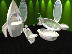Mod The Sims - Parsimonious Solar Bug Nursery in Green, Black, and Silver