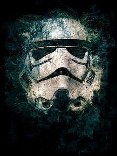 Fantastic Star Wars art and wall decor Star Trek, Star Wars Fan Art, Lego Star Wars, Star Wars Comics, Decoracion Star Wars, Deco Cinema, Starwars, Chat Origami, The Dark Side