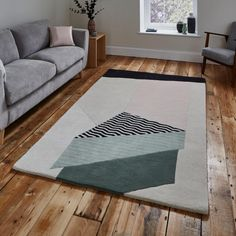 Norden Home This Hailie Hand Tufted Wool White Rug is perfect for making a statement in the home. Rug Size: Rectangle 150 x Viborg, Black Rug, White Rug, Machine Made Rugs, Geometric Rug, Hand Tufted Rugs, Red Rugs, Home Rugs, Rugs Online