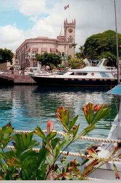Bridgetown from the harbor - Barbados http://www.travelbrochures.org/198/north-america/the-beautiful-land-of-barbados