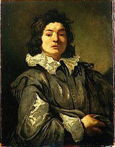 Claude Vignon, Portrait de jeune homme (Paris, ca. 1640, Musée des Beaux-Arts de Caen).