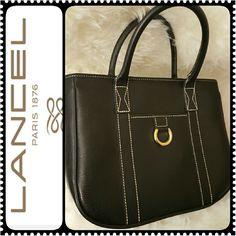 Lancel Paris Leather Handbag