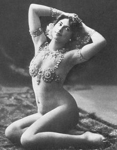 Mata Hari-one of the most influential women that ever lived....if you do not know her story, you should really read it....