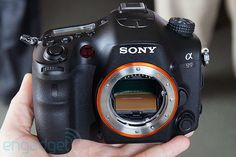 Sony Alpha A99 is the company's first fullframe DSLR since 2008's A900, we go handson