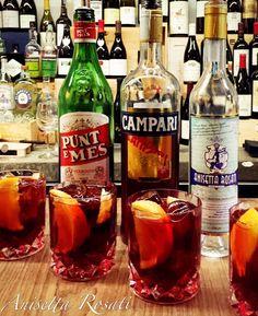N E G R E T T E  ~ 1/3 Anisetta Rosati dal 1877; ~ 1/3 Punt e Mes Carpano; ~ 1/3 Campari Bitter; ~ garnish with a slice of Orange and Lemon twist.  #NegretteCocktail #VinatteriaZolfo #Pescara #AnisettaRosati #ZolfoVinatteria #Anisetta #AnisettaRosati1877 #RiservaLeoneXIII #AscoliPiceno #Picenoshire #Anisette #cltdrinks #BestBars #SpeakEasy #mixologist #mixology #bartending #craftcocktails #AnisettaRosatiRiservaLeoneXIII