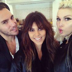 Only slightly obsessing over Kourtney Kardashian bangs