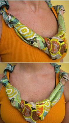 Riciclo creativo dei foulard  (Foto 41/41) | PourFemme