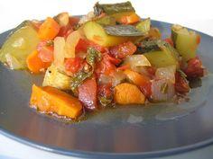 Almost Turkish Recipes: Zucchini with Tomatoes (Zeytinyağlı Kabak)