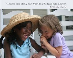 Giggles and smiles. Host a Fresh Air child through The Fresh Air Fund's Volunteer Host Family Program