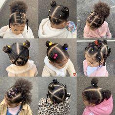 Black Baby Girl Hairstyles, Little Girls Natural Hairstyles, Mixed Kids Hairstyles, Toddler Braided Hairstyles, Kids Curly Hairstyles, Pelo Afro, Mixed Hair, Biracial Hair, Hair Styles
