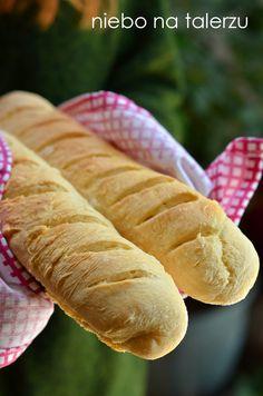 najlepsza bagietka francuska Hot Dog Buns, Hot Dogs, Lunch, Recipes, Breads, Brot, Eat Lunch, Recipies, Ripped Recipes