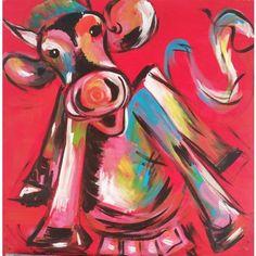 HAPPY COW. Zelf komen schilderen? Schilderen met een wijntje. Hét creatieve avondje uit. paintbar.nl.