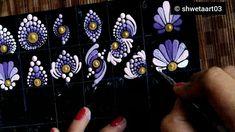 Mandala Canvas, Mandala Dots, Mandala Pattern, Pattern Art, Mandala Doodle, Dot Art Painting, Mandala Painting, Painting Patterns, Stone Painting